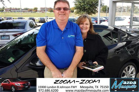 #HappyAnniversary to Eluzabeth  Mccorkell on your 2010 #Mazda #Mazda3 from Randy Leyva at Mazda of Mesquite!