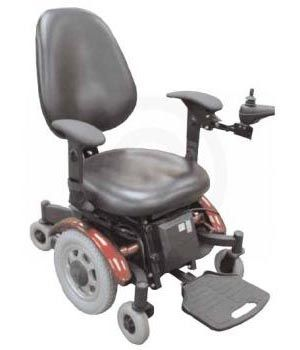 Denali Mid Wheel Drive Power Chair $2,835.00 FREE Shipping from uCan Health || Adjustable width arms. Easy operated power-assist back angle adjustment. Small footprint.Durable one-piece main frame design., Denali Mid Wheel Drive Power Chair, Power Chair, Blue