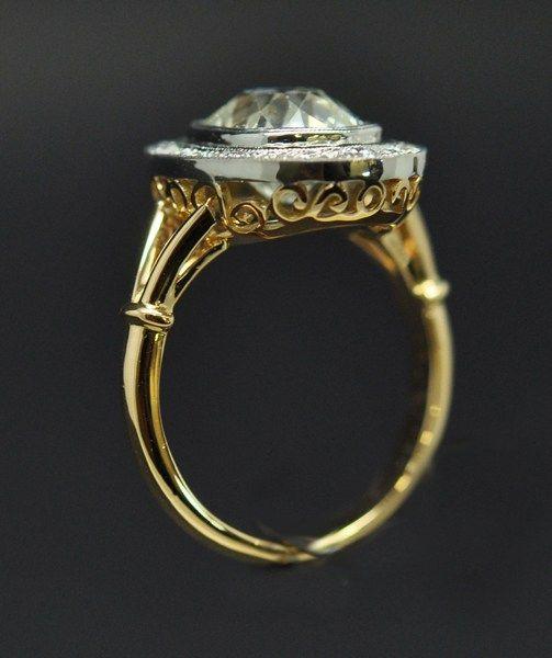 bague diamant taille ancienne