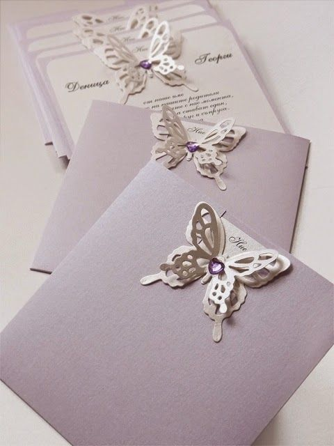 17 Best images about Aida Wedding – Butterfly Wedding Invite