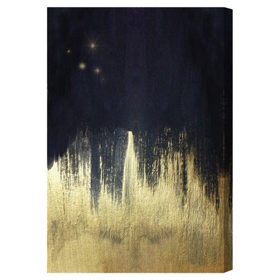 north star canvas print