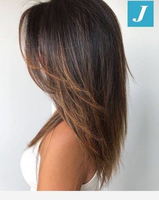 45 Best Medium Length Straight Hair For Women In 2019 6 Telorecipe212 Com Hairstyles For In 2020 Medium Layered Hair Thick Hair Styles Medium Hair Styles
