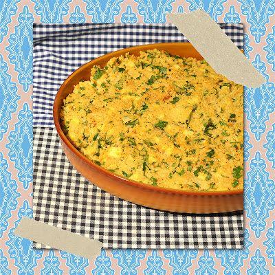 Aus Sultans K�chen: Fisch-Spinat-Gratin mit Couscoushaube