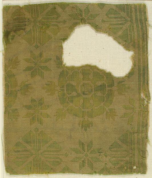 Brocade Textile | Italian | The Met