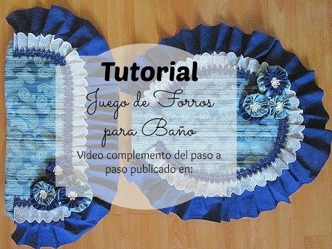 C mo hacer un juego de ba o sewing instructions how to for Como disenar un bano