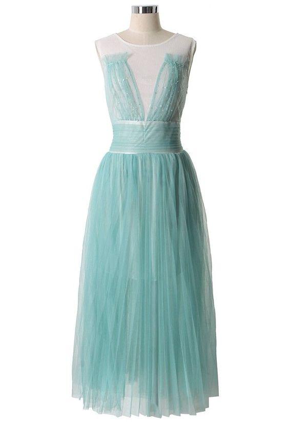 Vintage style prom dress