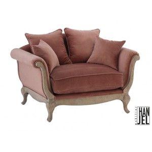 mini canap baroque en velours marron glac pompadour fauteuils sofas pinterest baroque. Black Bedroom Furniture Sets. Home Design Ideas