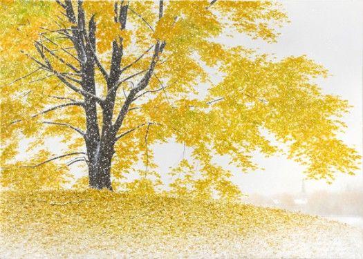 Early Autumn Snowfall   Alexander Volkov   Marcus Ashley Gallery