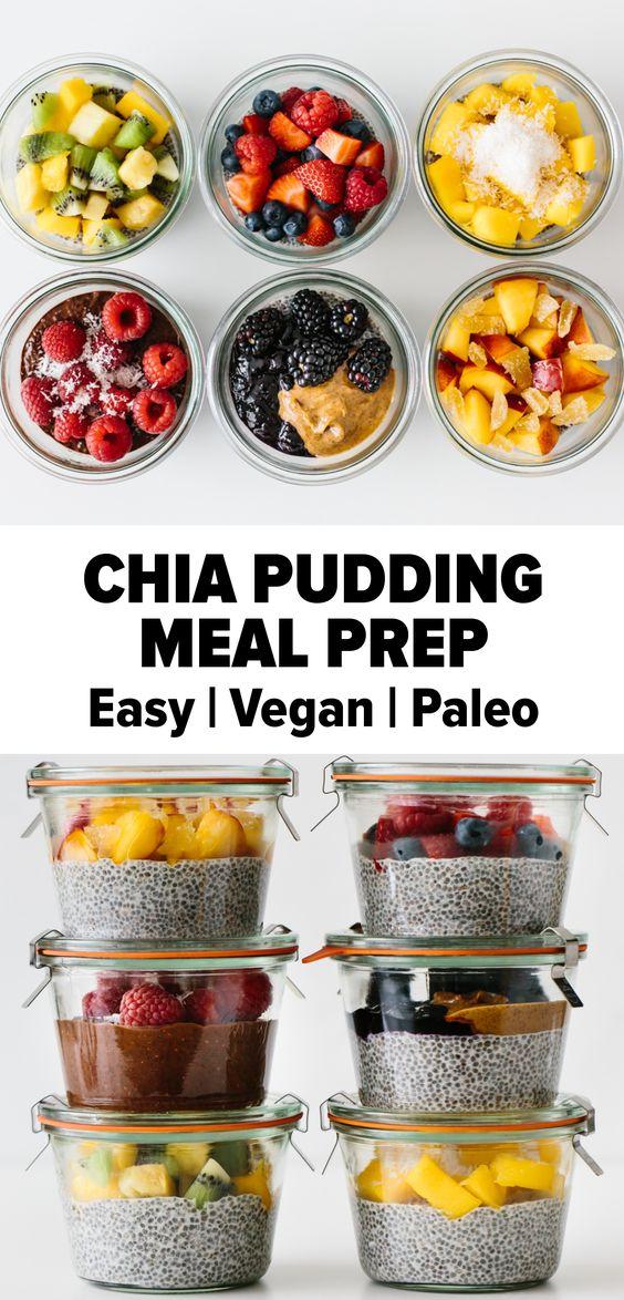 Chia Pudding Meal Prep
