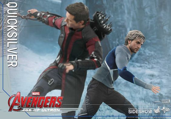 Hot Toys Quicksilver Sixth Scale Figure