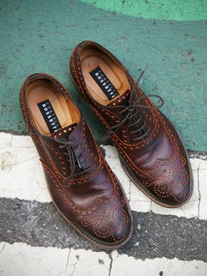 Fratelli RosettiBrown wingtips ($650) by Fratelli Rosetti....I Love These Shoes!!!