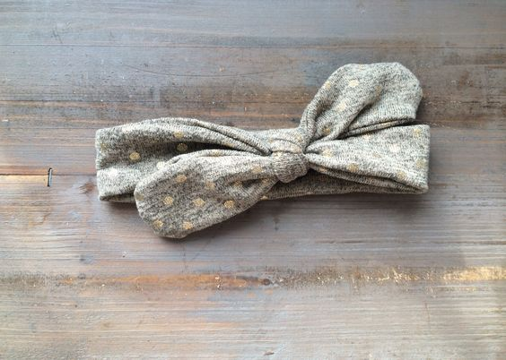 Oh my gosh! So cute! Knotted headband in soft jersey knit!  http://tinybowsandarrows.bigcartel.com/products