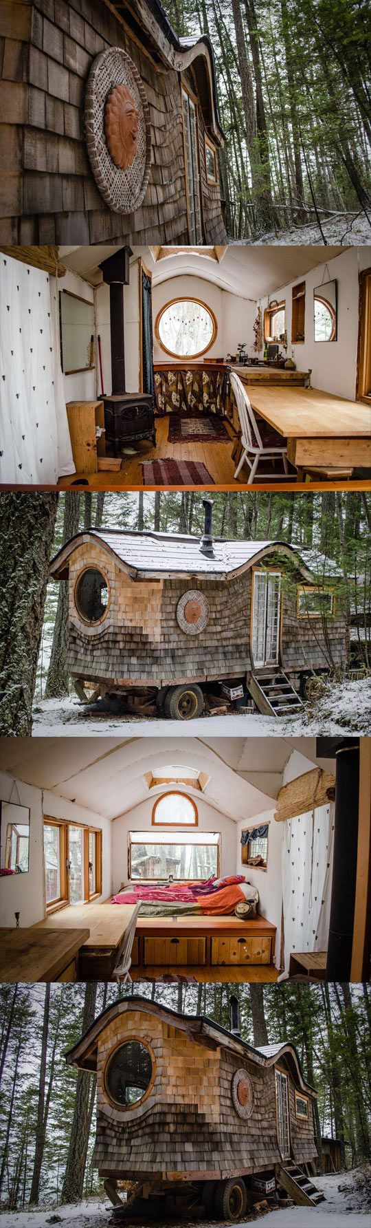 Just a tiny house...: