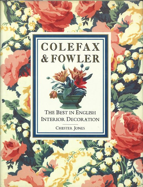 ~Colefax & Fowler. This book is both a history and pictorial celebration of the enormously influential design firm. Examples of the firm's work, from Buckingham Palace to town houses in London to rural retreats, display the ageless Colefax & Fowler touch and will help all those who wish to create their own country style. 200 color illustrations.