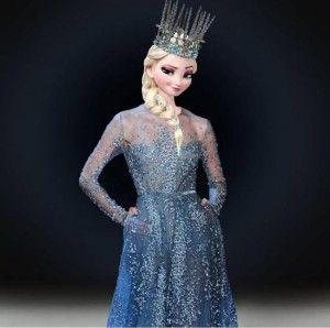 Robe Elsa sur votre journée de mariage