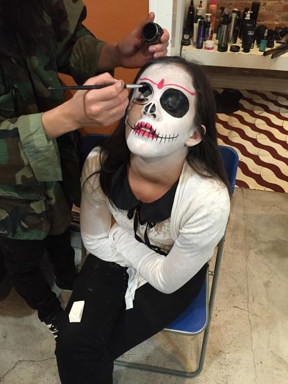 Halloween makeup #catrina #mexicantradition