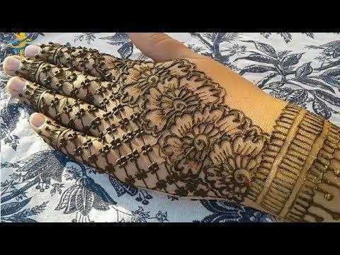 عالم النقش بالحناء Om Khawla Youtube Henna Hand Tattoo Hand Tattoos Hand Henna