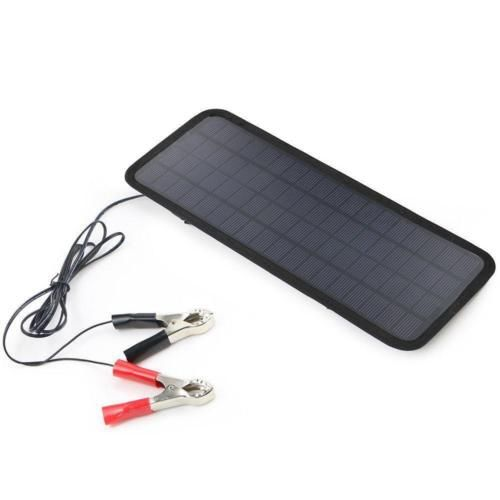 Solar Powered Car Auto Boat Motorcycle 12v Battery Maintainer Trickle Charger Solar Panel Charger Solar Power Charger Best Battery Charger