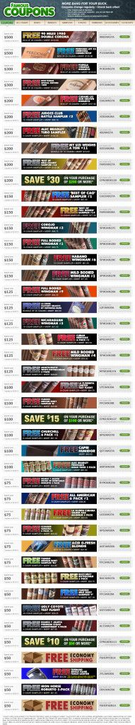 Get Freebies In Your Next Cigar Monster Order