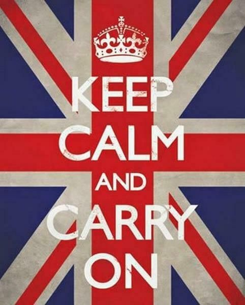 Mini Poster 40cm x 50cm new and sealed Keep Calm And Drink Tea