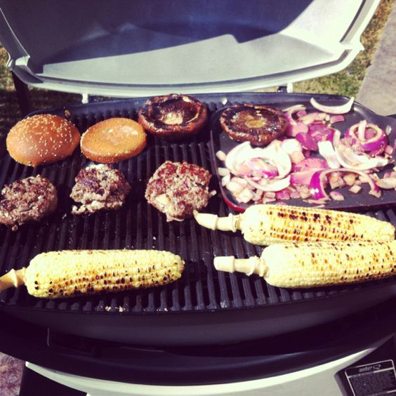 Weber grill.