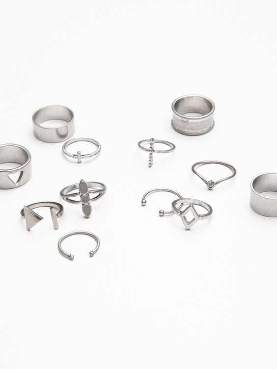Mega Mix N Match Ring Set | Wear one or wear them all stack them high or one of every finger, the possibilities are endless with the mix and match ring set.