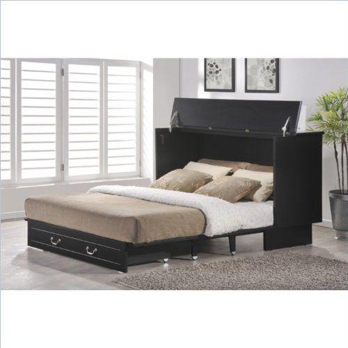 Arason Enterprises Creden-ZzZ Queen Cabinet Bed in Cottage Black Arason Enterprises http://www.amazon.com/dp/B00K1E4PYM/ref=cm_sw_r_pi_dp_18Uyub1J8G96Z