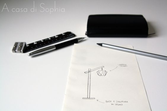 La mia lampada origami | A casa di Sophia