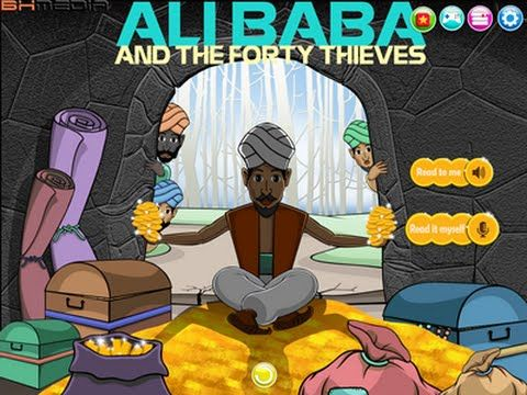 Ali Baba and the Forty Thieves Short Summary Ali Baba stumbles upon a