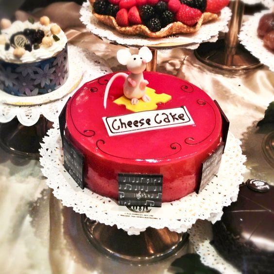 TORTA COL TOPO #cheesecake #milano #pasticceriacova #Montenapoleone
