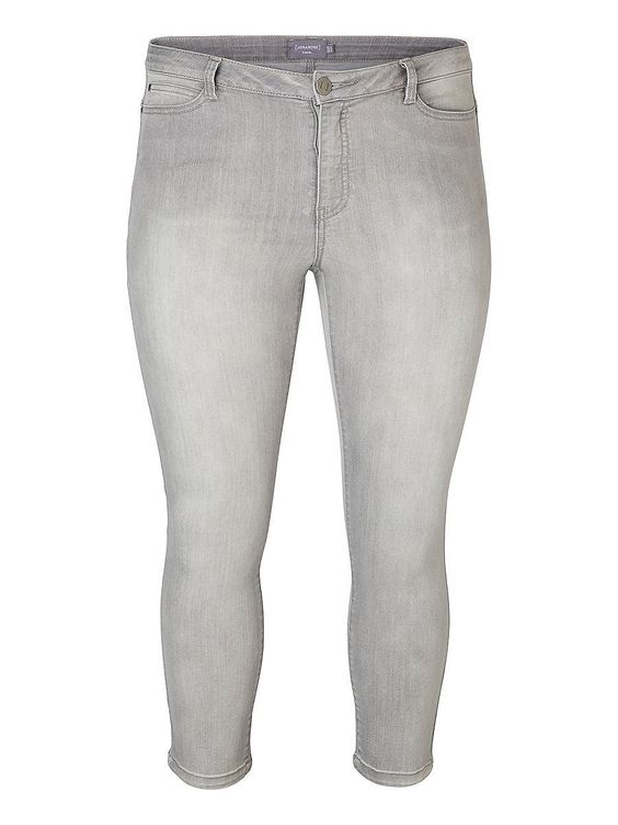 JUNAROSE Regular Jeans, Normal waist, 5 Taschen, Gürtelschlaufen, Dehnbare Qualität, Die Schrittlänge in Größe 44 beträgt 82,4 cm (von der oberen Schrittnaht bis zum Abschluss),   66% Baumwolle, 29% Polyester, 3% Viskose, 2% Elasthan...