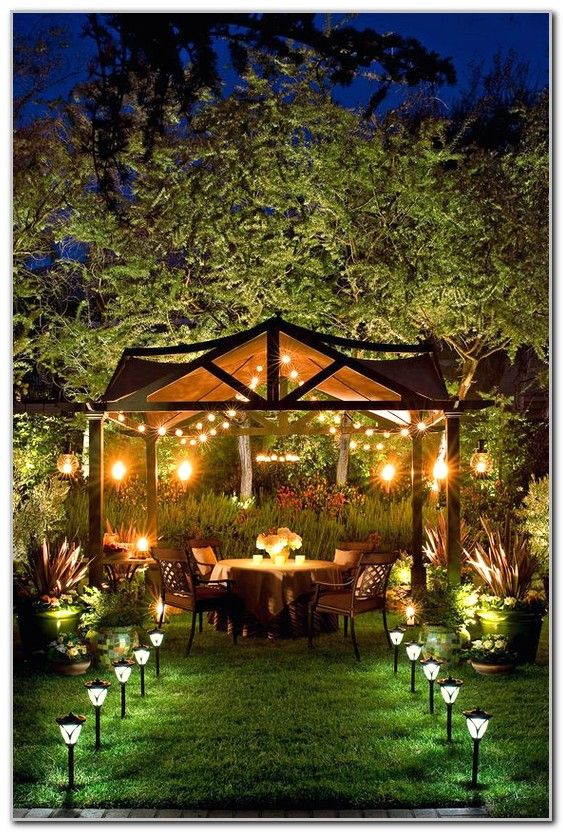 Best Gazebo Lighting Ideas Best Design Ideas Diy Backyard