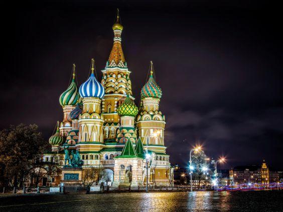 Catedral de São Basílio, na Russia - Pesquisa Google