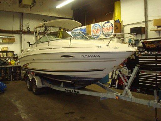 Sea Ray 215 Weekender 2000 Used Boat For Sale In Wasaga Beach Ontario Boats For Sale Used Boat For Sale Wasaga Beach