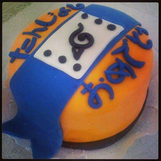 Naruto Cake Bolo Naruto Pasta Americana Tudo By Recakes