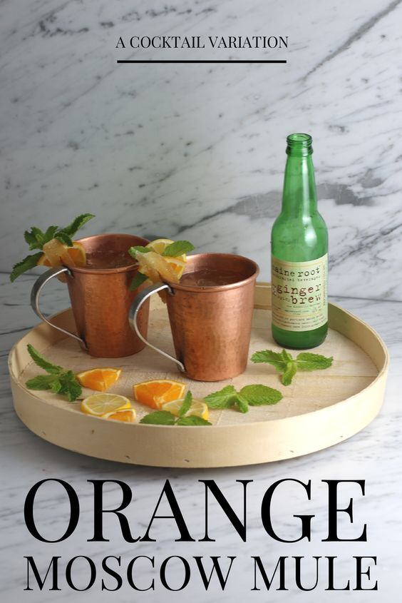 The Orange mule is a tangy twist on the Moscow mule and a refreshing cocktail that is perfect for summer!
