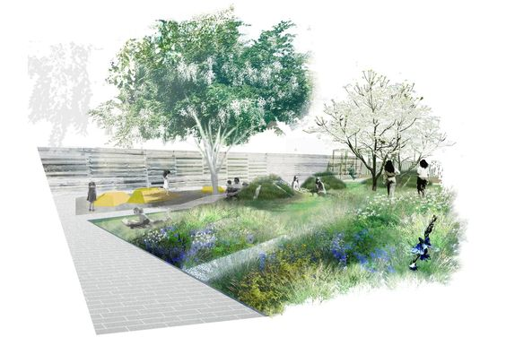 Future Green : Portfolio : THE VILLAGE PARK: