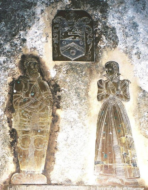 """Kent, Goodnestone by Adisham    Thomas Engeham and wife Elizabeth daughter of Edward Monins/ Monynges - both """"dyed to lyve"""" within months of each other in 1558,  Thomas was the son of Vyncent Engeham and Edith daughter of William Goodneston"""