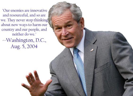 Quote W Bush Government Pinterest Military