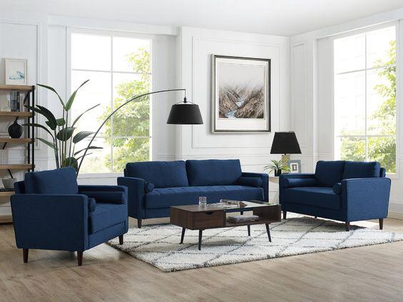 Opt for 3-Piece Sofa