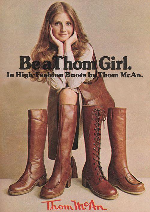 Anuncio en favor de la icónica marca (1977).