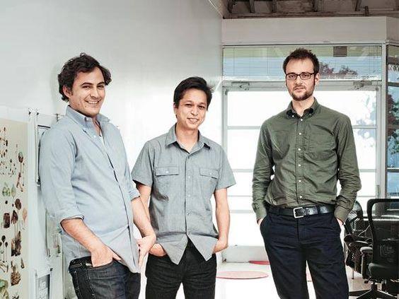 Sciarra, Silbermann e Sharp: estes são os criadores do Pinterest