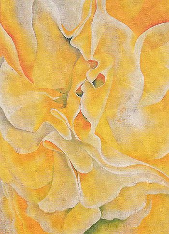 Georgia O'Keeffe Yellow Sweet Peas 1925