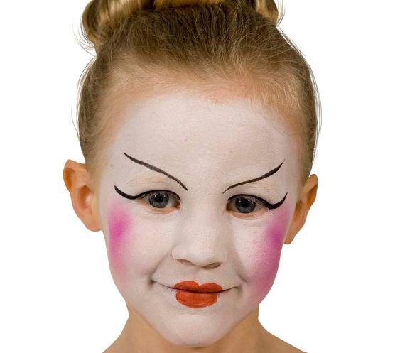 Grimtout maquillage l 39 eau princesse chinoise tape 1 alice pinterest - Maquillage princesse facile ...