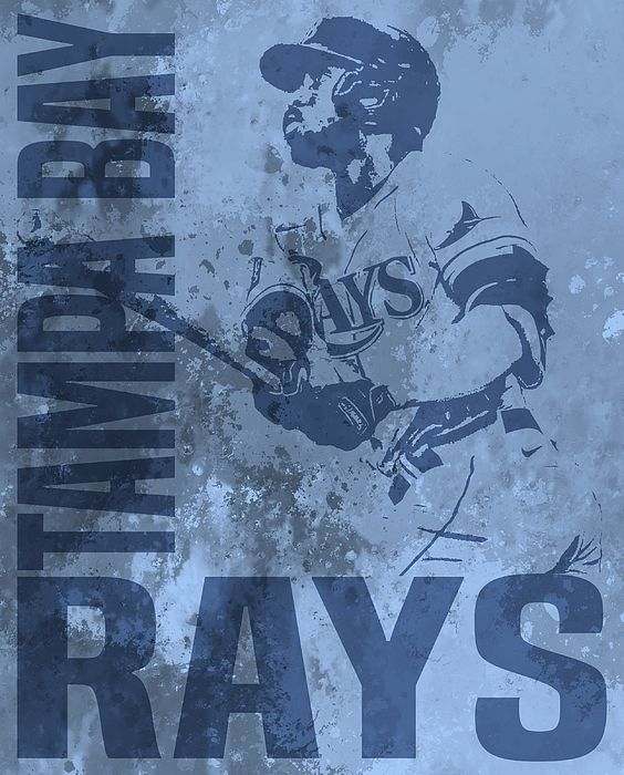 Randy Arozarena Tampa Bay Rays Watercolor Strokes Pixel Art 1 By Joe Hamilton In 2020 Pixel Art Art Watercolor