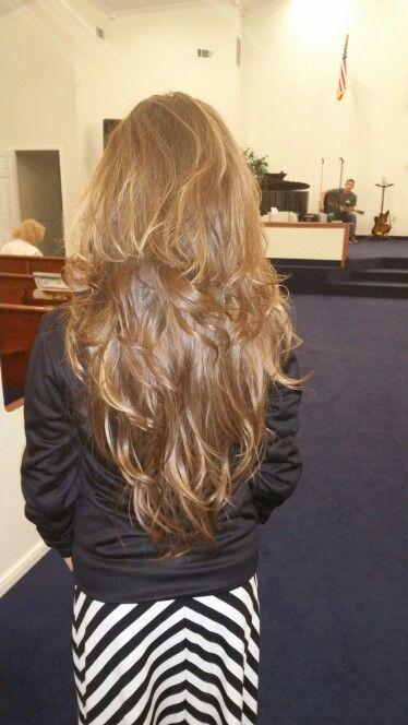 Haircut Styles For Long Thin Hair: Hair, Long Layered Hair And Layered Hair On Pinterest