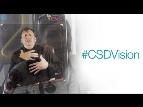The future of communication access for the deaf: #CSDVision - YouTube