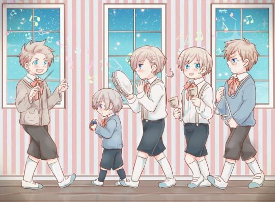 ♪Little Nordics Marching Band♪>> every time I see the Nordics in any sort of band situation (aside from the NaNaNaNordics video by WaffleswithSpain), Sweden plays the triangle. Is this a joke I'm missing?