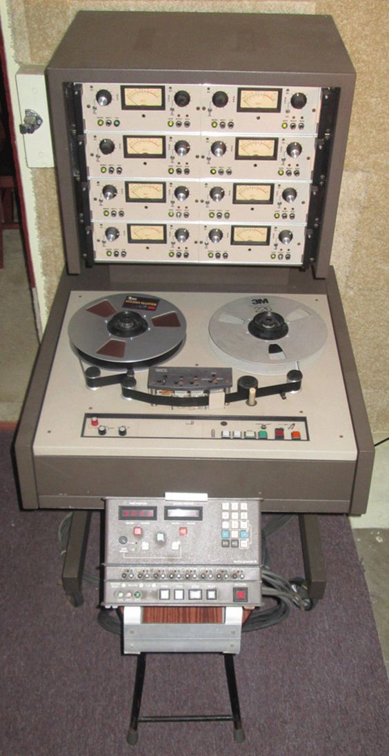 MCI JH-110C ANALOG 8-TRACK REEL-TO-REEL TAPE RECORDER