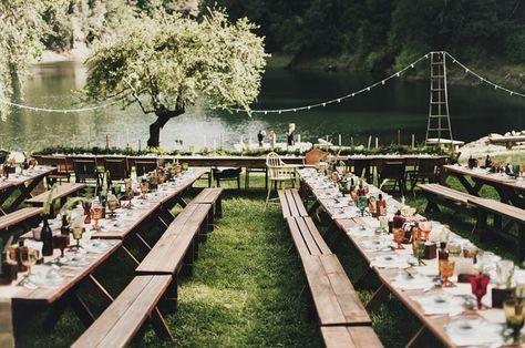 70+ Trendy wedding reception outdoor simple picnic tables